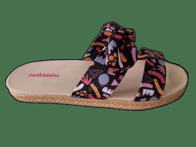 Chinelo Molekinha 2301.207 Preto