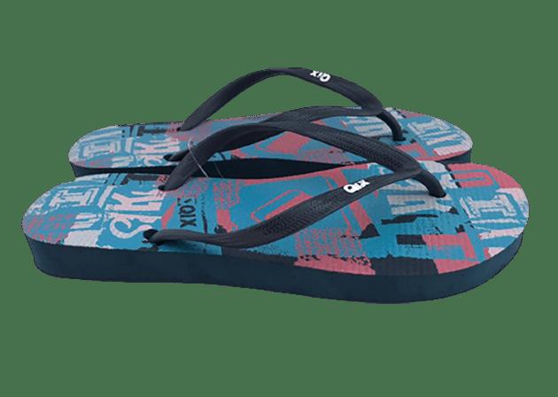 Chinelo QIX Marinho/Azul