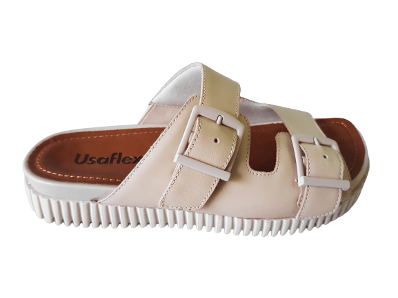 Chinelo Usaflex AF3503007 Vanilla