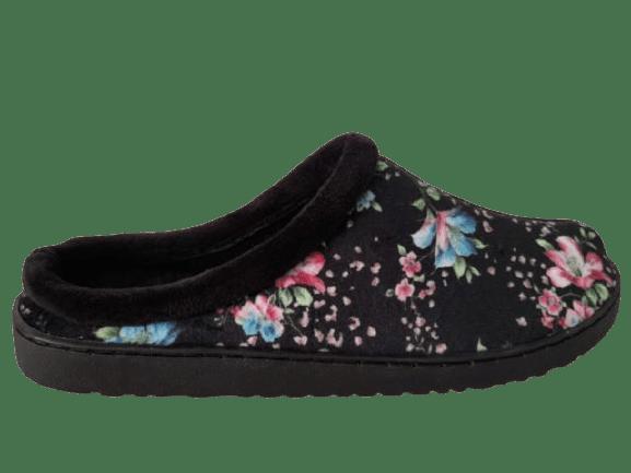 Chinelo Pantufar 1029 Flores Preto