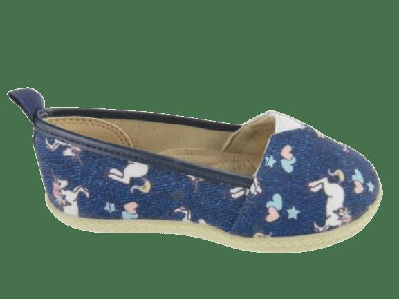 Sapatilha Molekinha 2116.100 Jeans