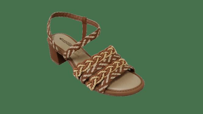 Sandália Mississipi Q5441-0004 Caramelo