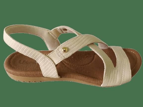 Sandália Usaflex R1804117 Vanilla